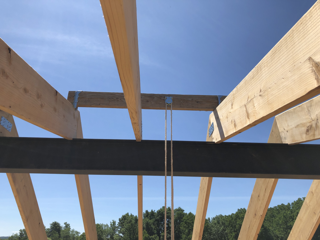 2020-07-18 Block and Tackle for Roof Decking
